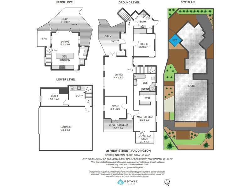 25 View Street, Paddington, Qld 4064 - floorplan