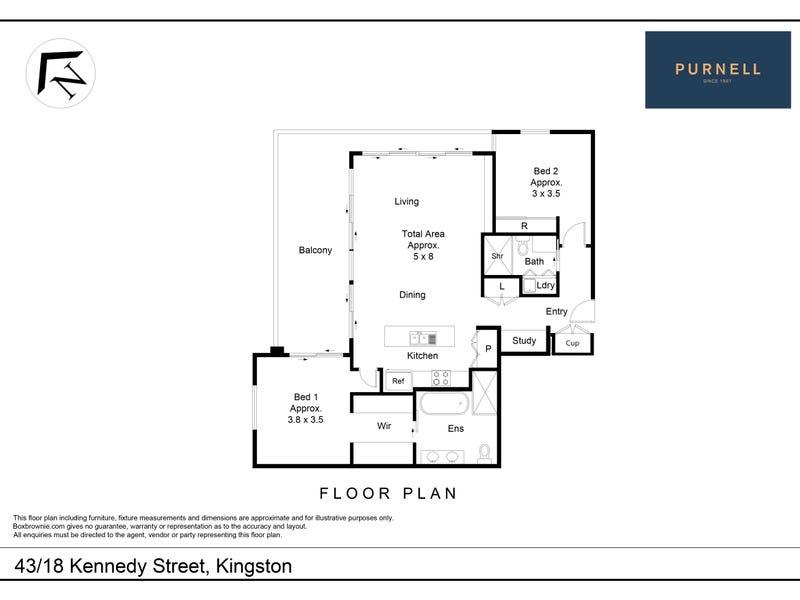 43/18  Kennedy Street, Kingston, ACT 2604 - floorplan