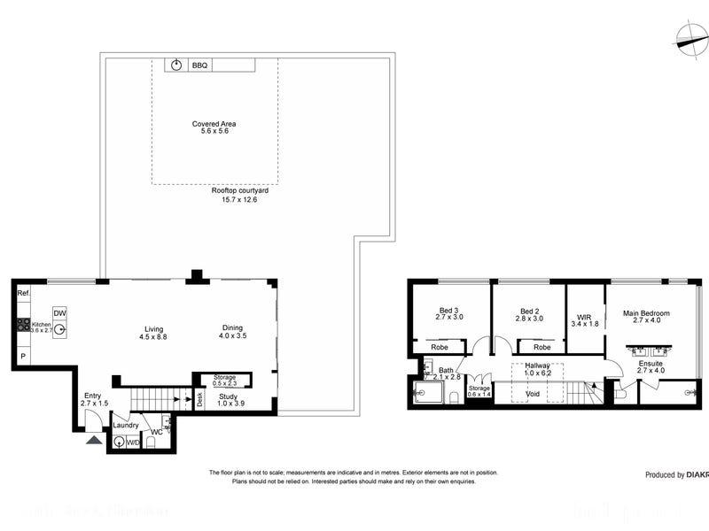 75/5 Kerridge Street, Kingston, ACT 2604 - floorplan