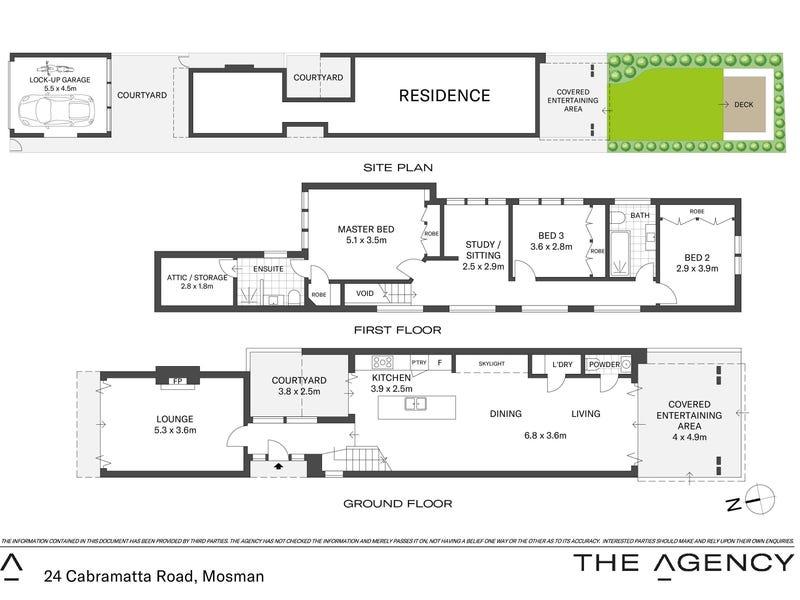 24 Cabramatta Road, Mosman, NSW 2088 - floorplan
