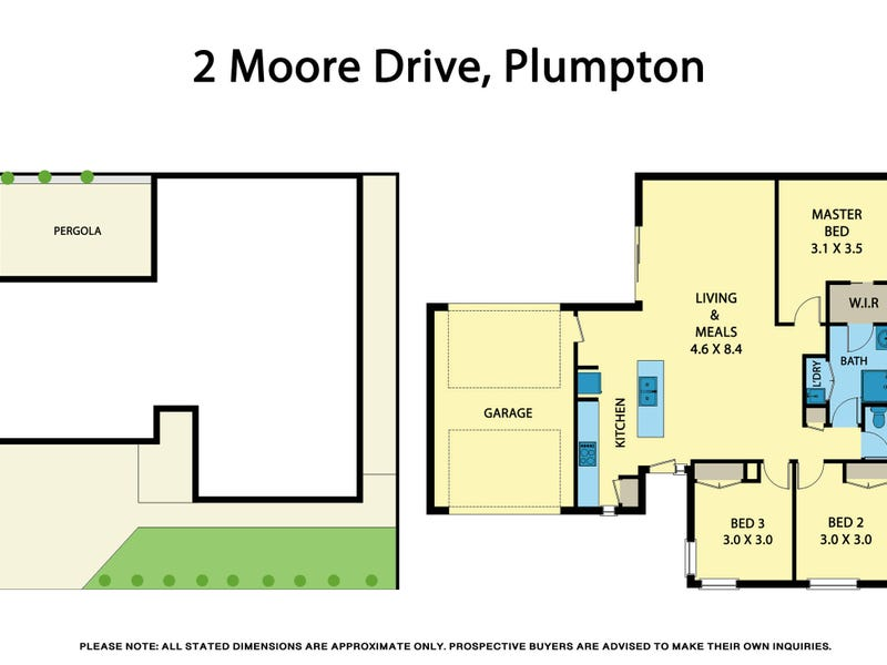 2 Moore Drive, Fraser Rise, Vic 3336 - floorplan