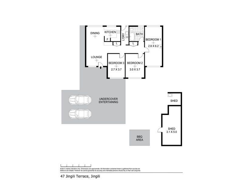 47 Jingili Terrace, Jingili, NT 0810 - floorplan