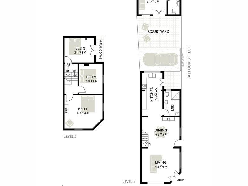 42 Dick Street, Chippendale, NSW 2008 - floorplan