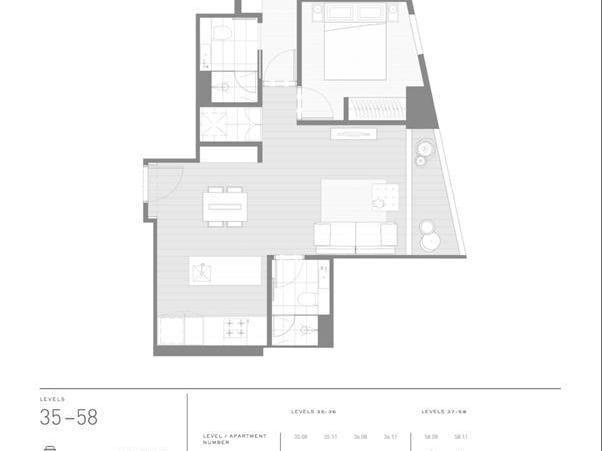 5608/135 A'Beckett Street, Melbourne, Vic 3000 - floorplan