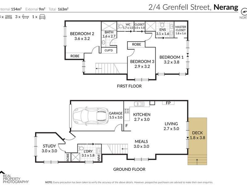 2/4 Grenfell Street, Nerang, Qld 4211 - floorplan
