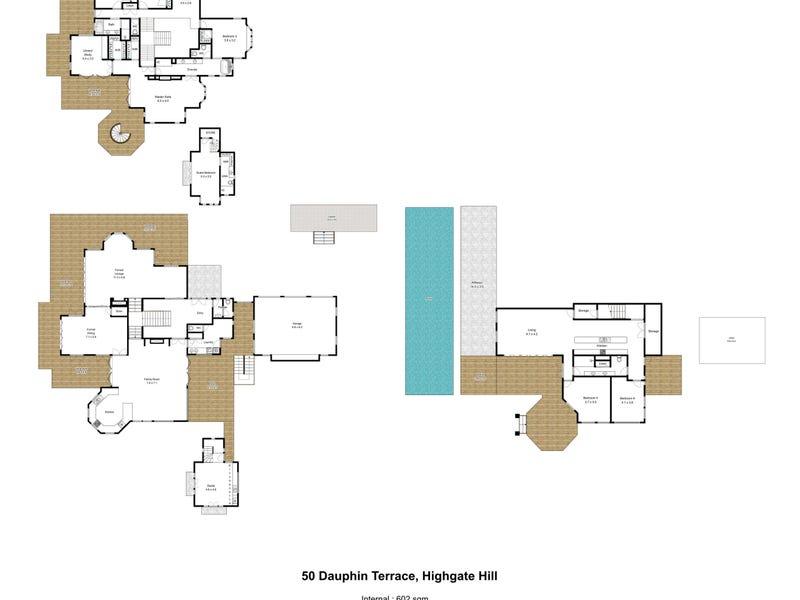 50 Dauphin Terrace, Highgate Hill, Qld 4101 - floorplan