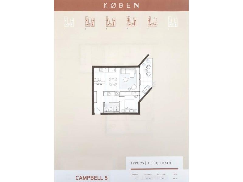 216/26 Provan Street, Campbell, ACT 2612 - floorplan