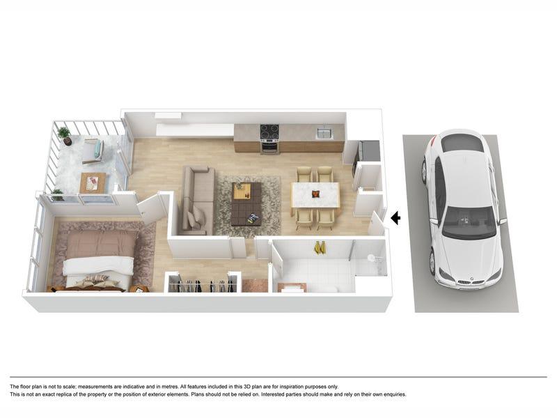 4509/220 Spencer Street, Melbourne, Vic 3000 - floorplan
