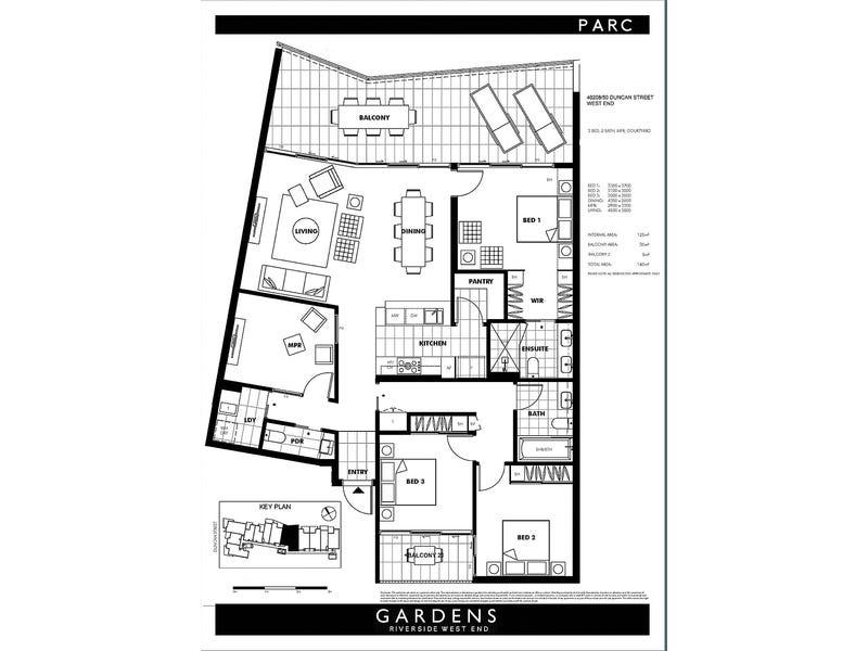 40208/50 Duncan Street, West End, Qld 4101 - floorplan