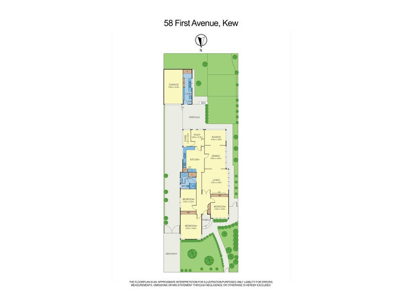 58 First Avenue, Kew, Vic 3101 - floorplan