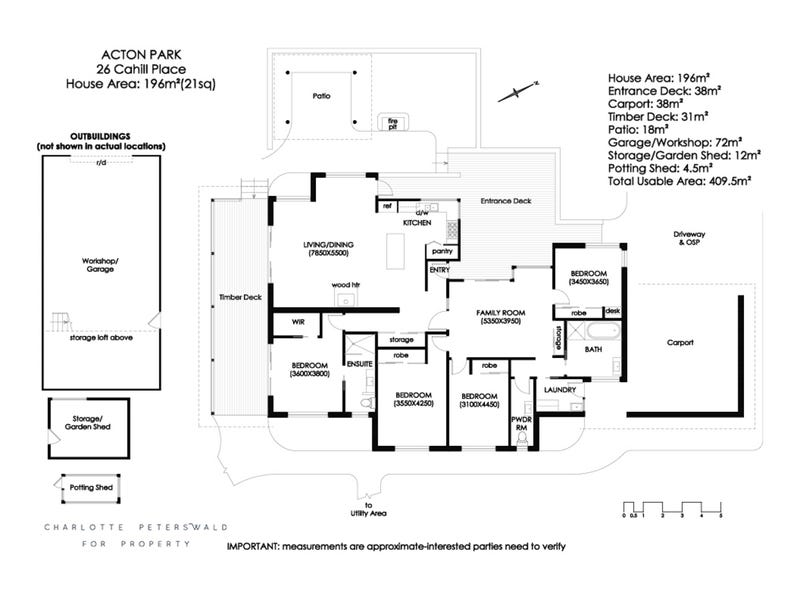 26 Cahill Place, Acton Park, Tas 7170 - floorplan