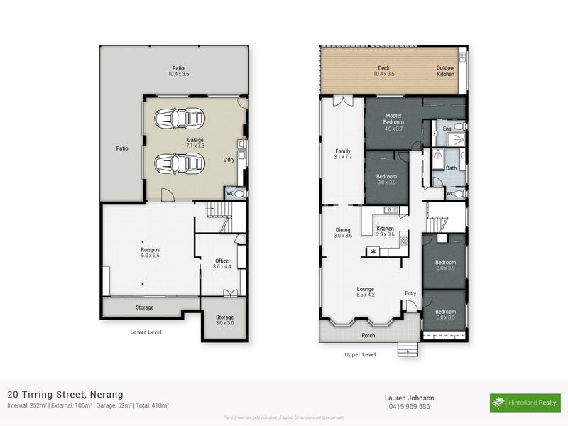 20 Tirring Street, Nerang, Qld 4211 - floorplan