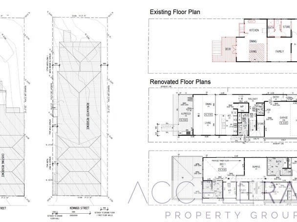 143 Kennigo Street, Spring Hill, Qld 4000 - floorplan