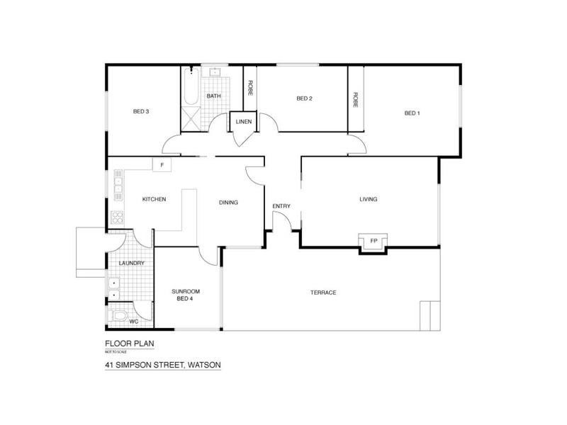 41 Simpson Street, Watson, ACT 2602 - floorplan