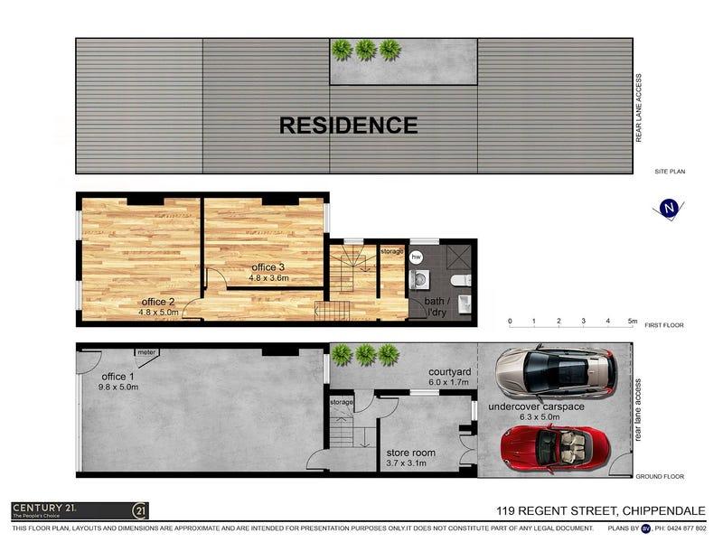 119-123 Regent Street, Chippendale, NSW 2008 - floorplan