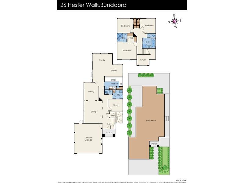 26 Hester Walk, Macleod, Vic 3085 - floorplan