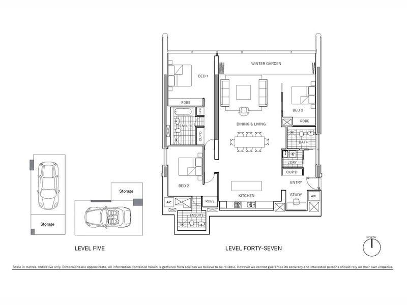 4702/101 Bathurst Street, Sydney, NSW 2000 - floorplan