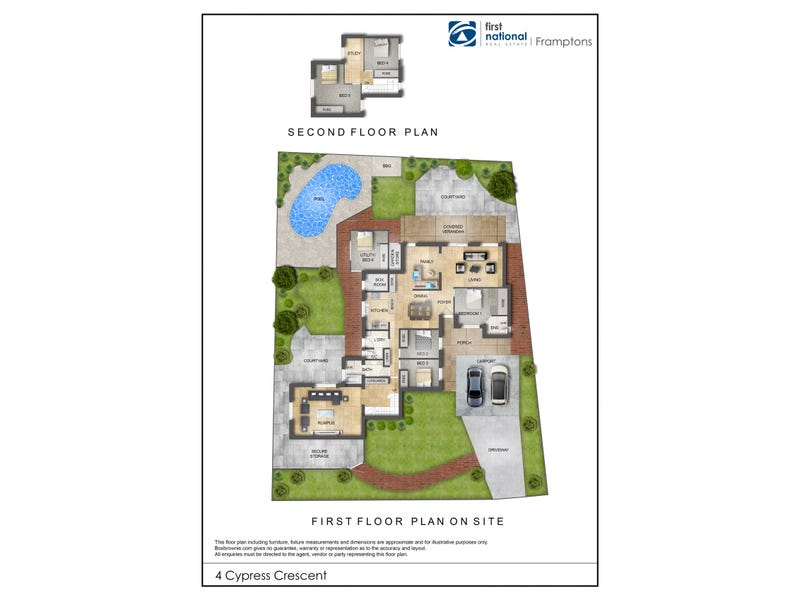 4 Cypress Crescent, East Side, NT 0870 - floorplan