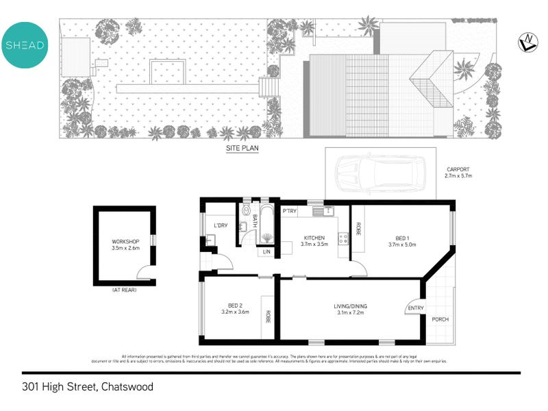 301 High Street, Chatswood, NSW 2067 - floorplan