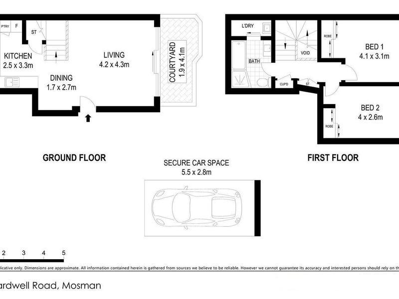 33/16 Bardwell Road, Mosman, NSW 2088 - floorplan