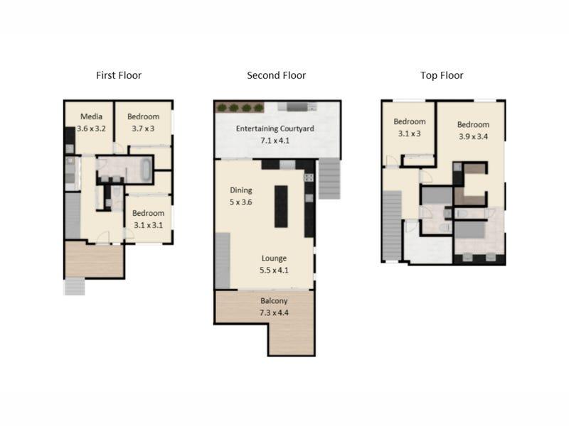 20 Rusden Street, Kelvin Grove, Qld 4059 - floorplan