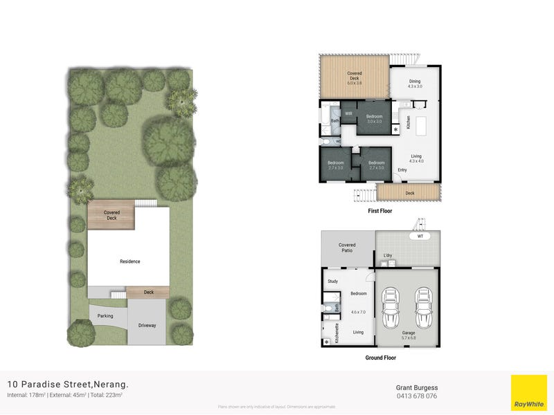 10 Paradise Street, Nerang, Qld 4211 - floorplan