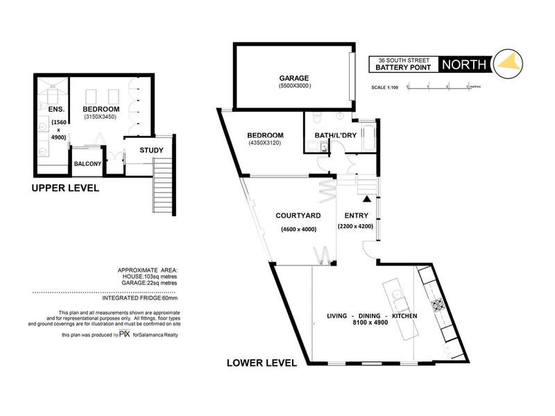 36 South Street, Battery Point, Tas 7004 - floorplan