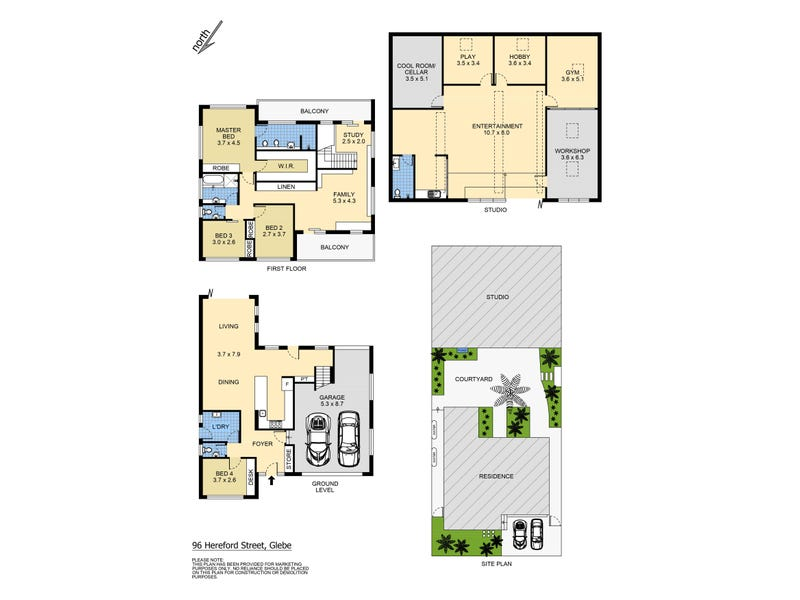 96 Hereford Street, Glebe, NSW 2037 - floorplan