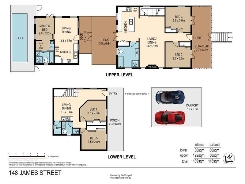 148 James Street, New Farm, Qld 4005 - floorplan