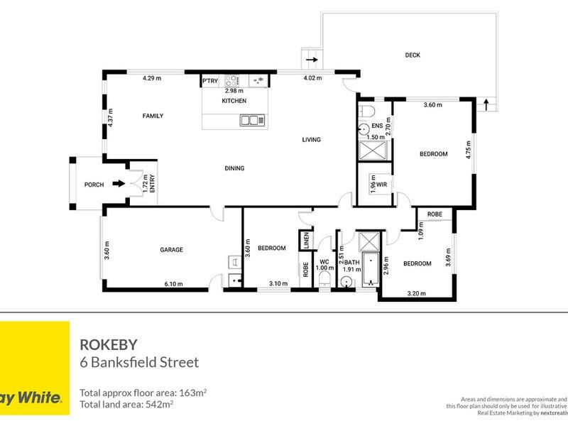 6 Banksfield Street, Rokeby, Tas 7019 - floorplan