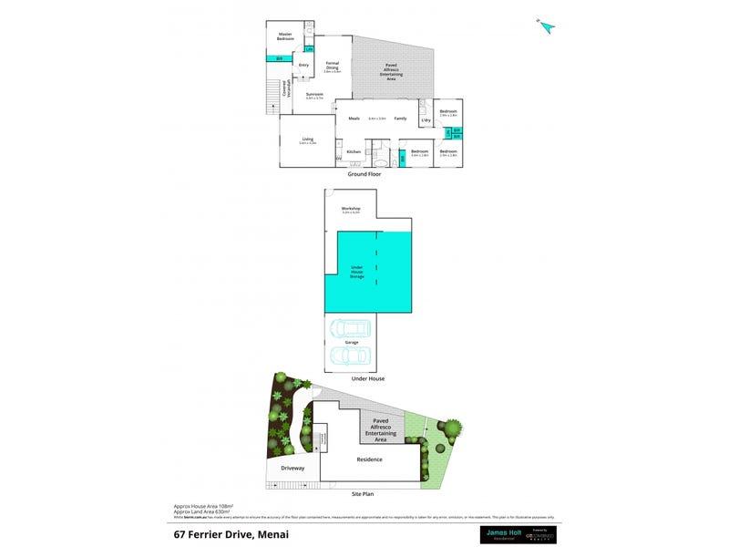 67 Ferrier Drive, Menai, NSW 2234 - floorplan