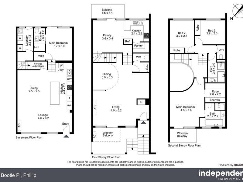 8 Bootle Place, Phillip, ACT 2606 - floorplan