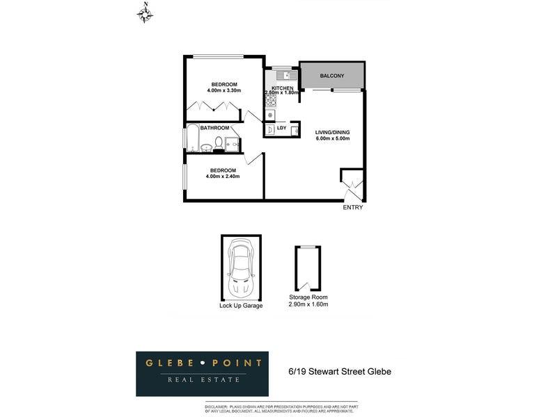 6/19-23 Stewart St, Glebe, NSW 2037 - floorplan