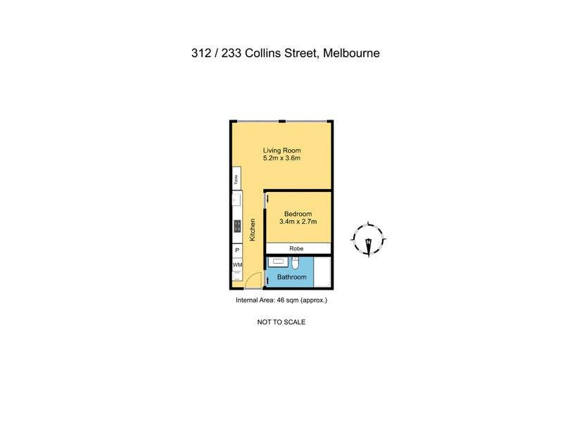 312/233-239 Collins Street, Melbourne, Vic 3000 - floorplan