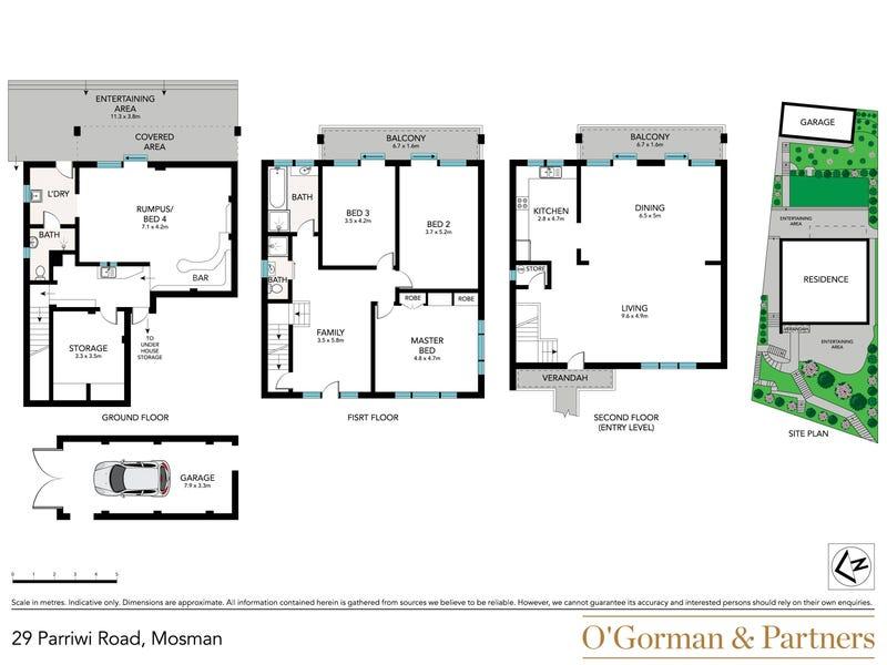 29 Parriwi Road, Mosman, NSW 2088 - floorplan