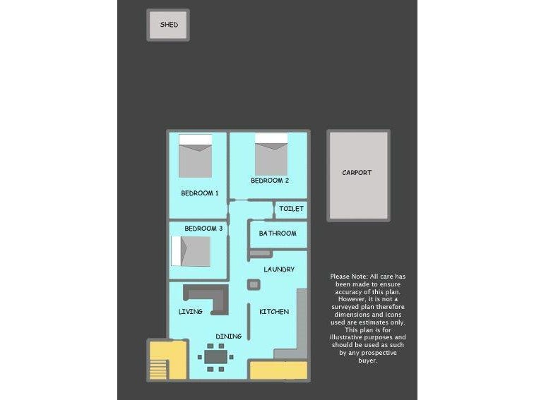 23 Caldwell Street, Goodna, Qld 4300 - floorplan