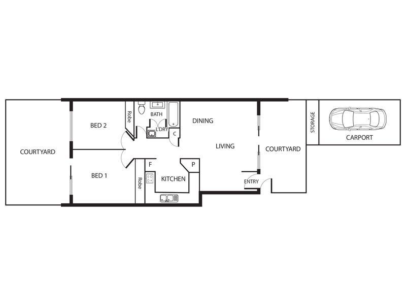 47/201 Goyder Street, Narrabundah, ACT 2604 - floorplan