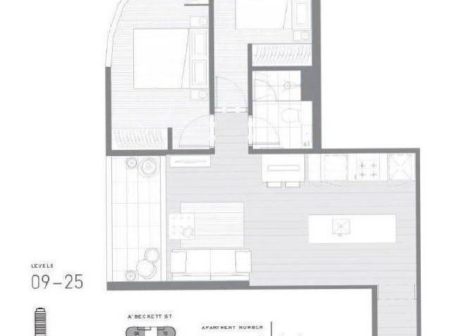1102/135 A'beckett Street, Melbourne, Vic 3000 - floorplan