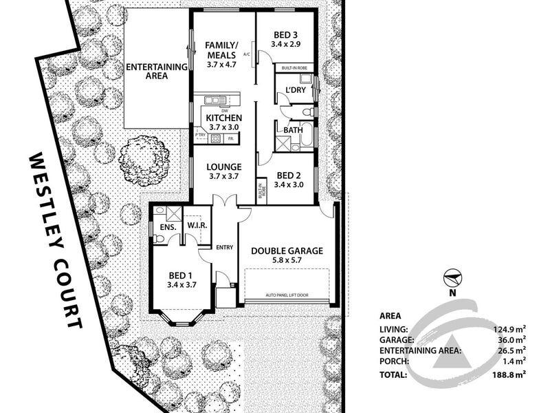 2 Westley Court, Mount Barker, SA 5251 - floorplan