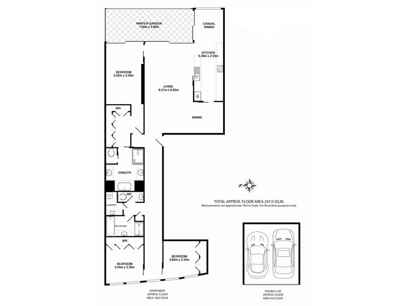 49/155 Macquarie Street, Sydney, NSW 2000 - floorplan