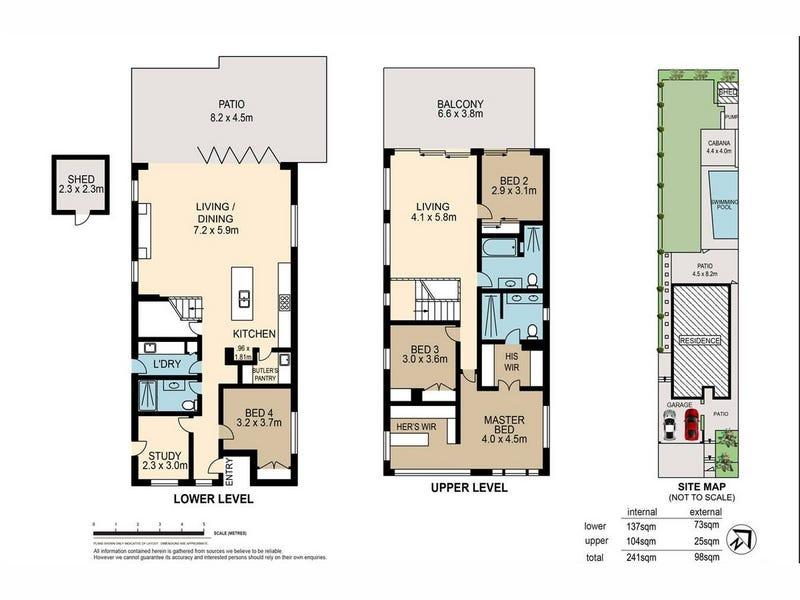 158 Heal Street, New Farm, Qld 4005 - floorplan