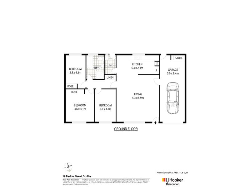 18 Barlow Street, Scullin, ACT 2614 - floorplan
