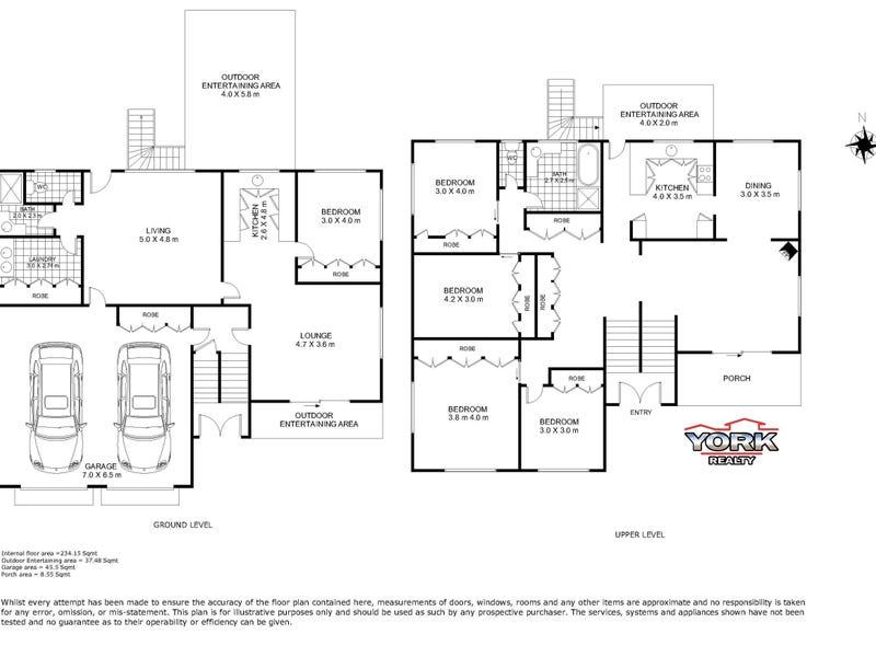 59 Debra Street, Centenary Heights, Qld 4350 - floorplan