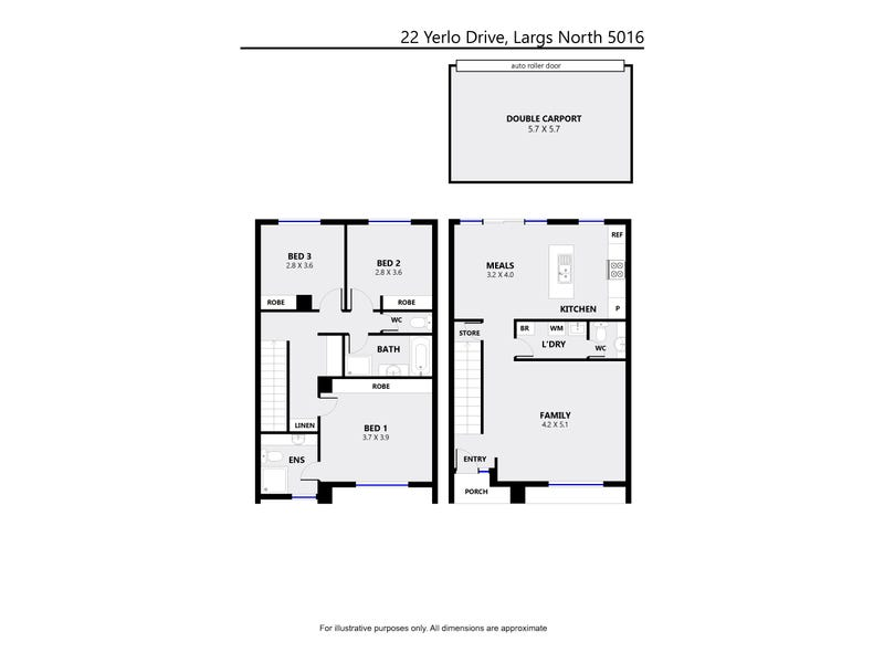 22 Yerlo Drive, Largs North, SA 5016 - floorplan
