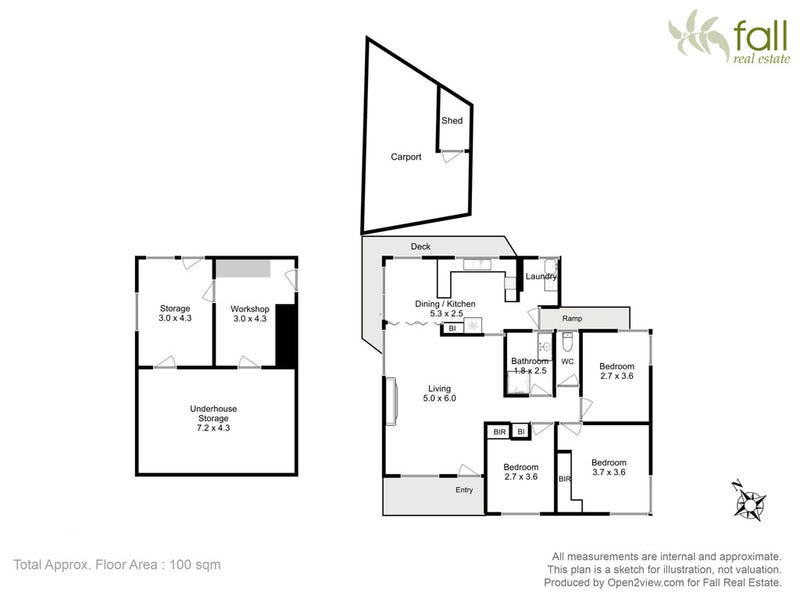 19 Blessington Street, South Arm, Tas 7022 - floorplan