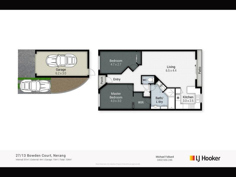 27/13 Bowden Court, Nerang, Qld 4211 - floorplan
