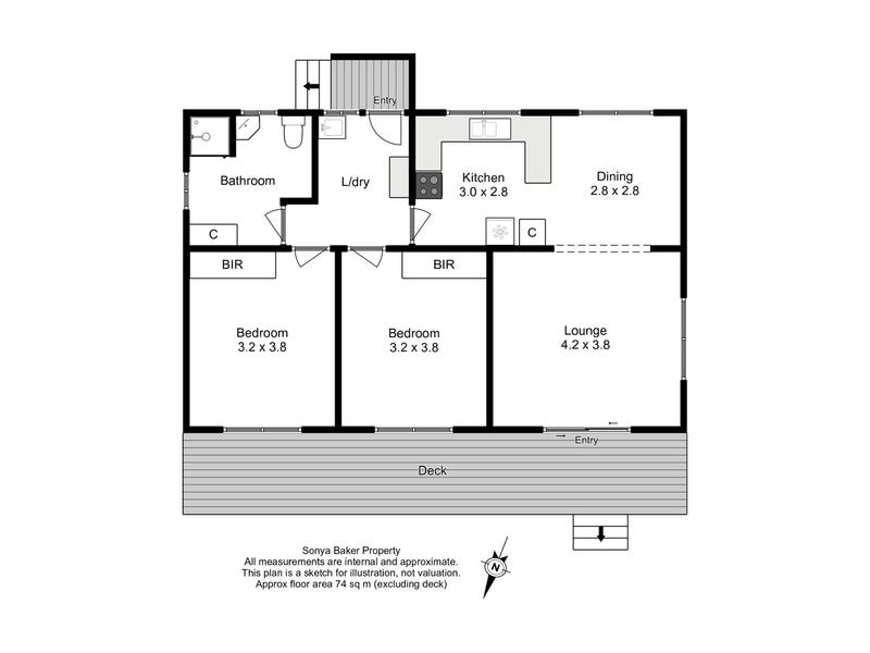 7 York Court, Wynyard, Tas 7325 - floorplan