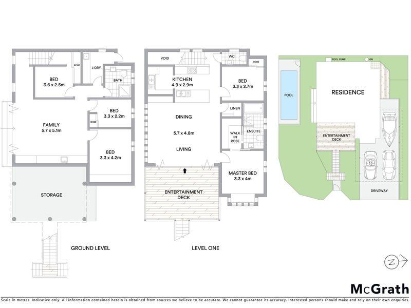 2 Turner Street, Windsor, Qld 4030 - floorplan