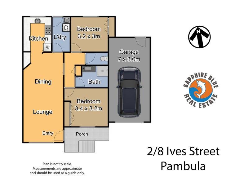 2/8 Ives Street, Pambula, NSW 2549 - floorplan