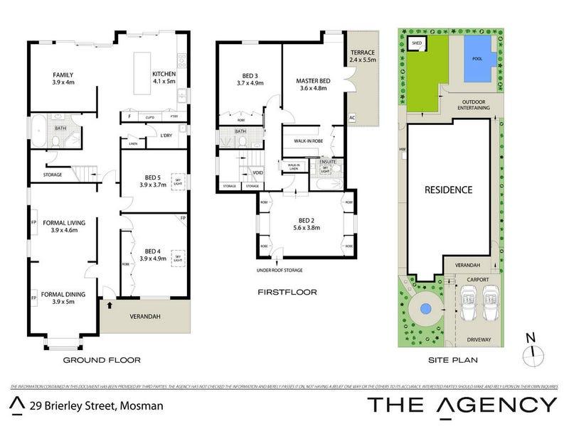 29 Brierley Street, Mosman, NSW 2088 - floorplan